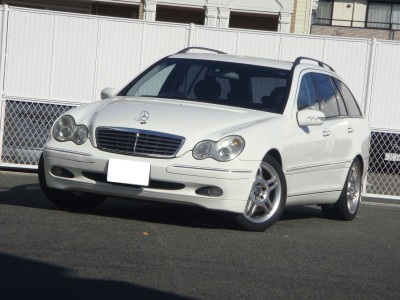 ベンツC200コンプレッサー